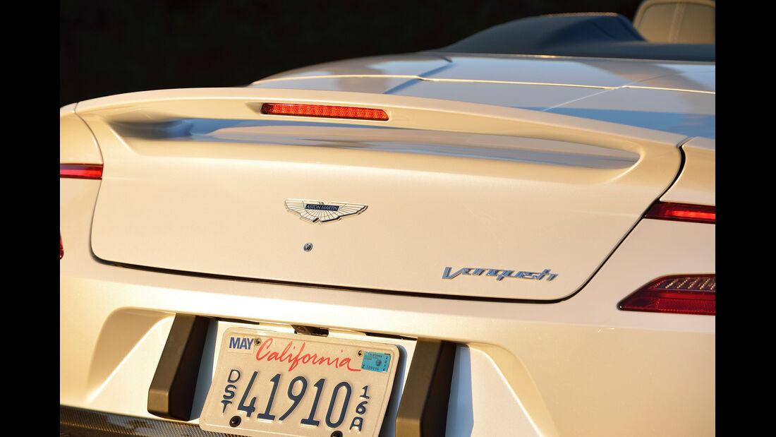 Aston Martin Vanquish Volante, Heck