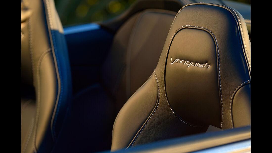 Aston Martin Vanquish Volante, Kopfstütze