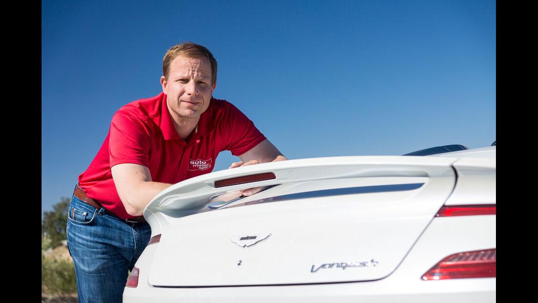 Aston Martin Vanquish Volante, Michael von Maydell