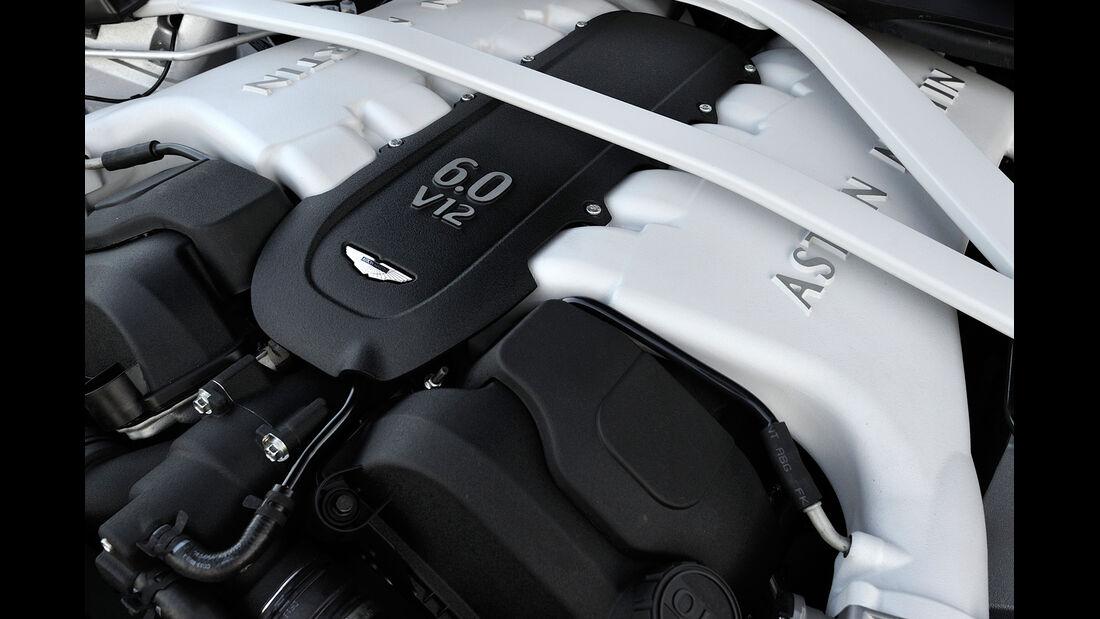 Aston Martin Vanquish Volante, Motor