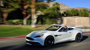 Aston Martin Vanquish Volante, Seitenansicht