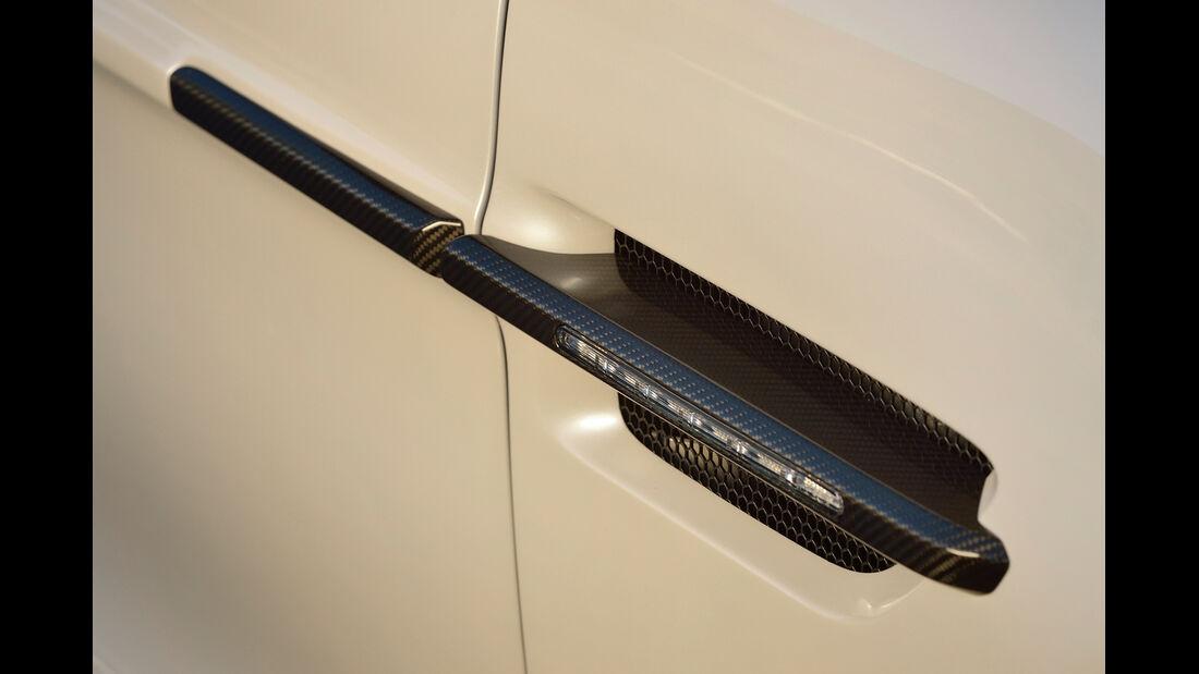Aston Martin Vanquish Volante, Seitenblinker
