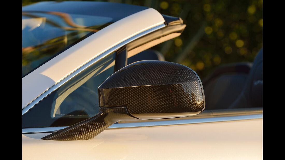 Aston Martin Vanquish Volante, Seitenspiegel