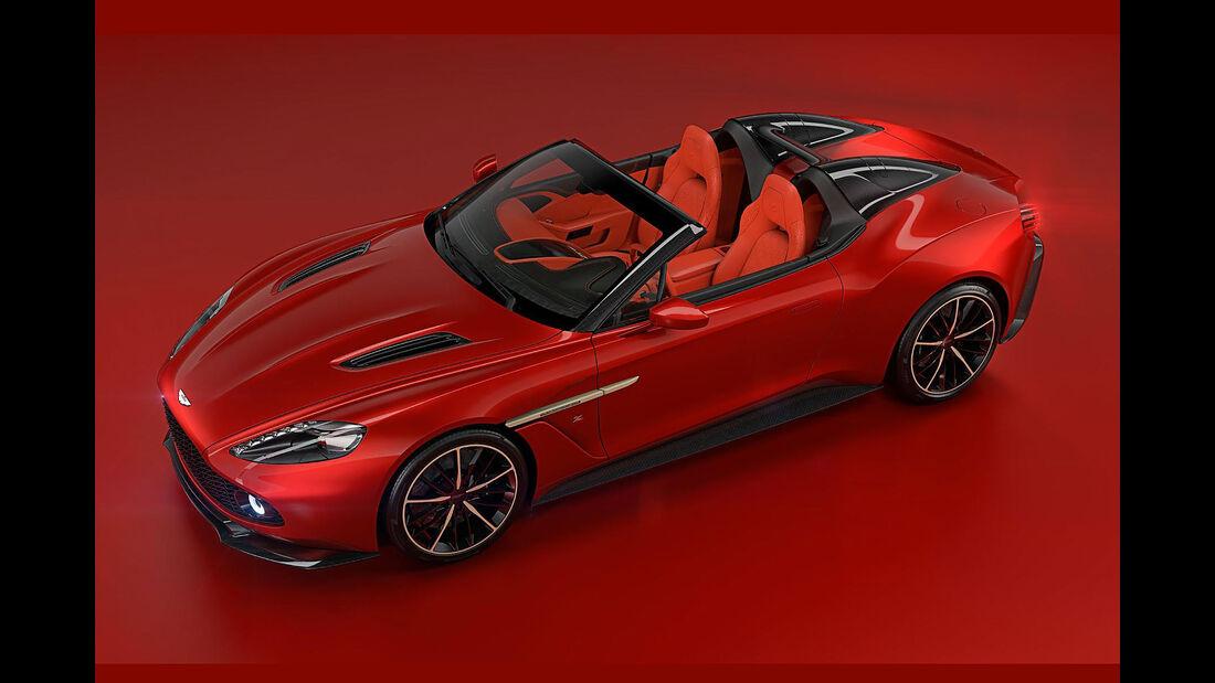 Aston Martin Vanquish Zagato Speedster