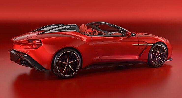 Aston Martin Vanquish Zagato Shooting Brake 2019 Auto Motor Und Sport