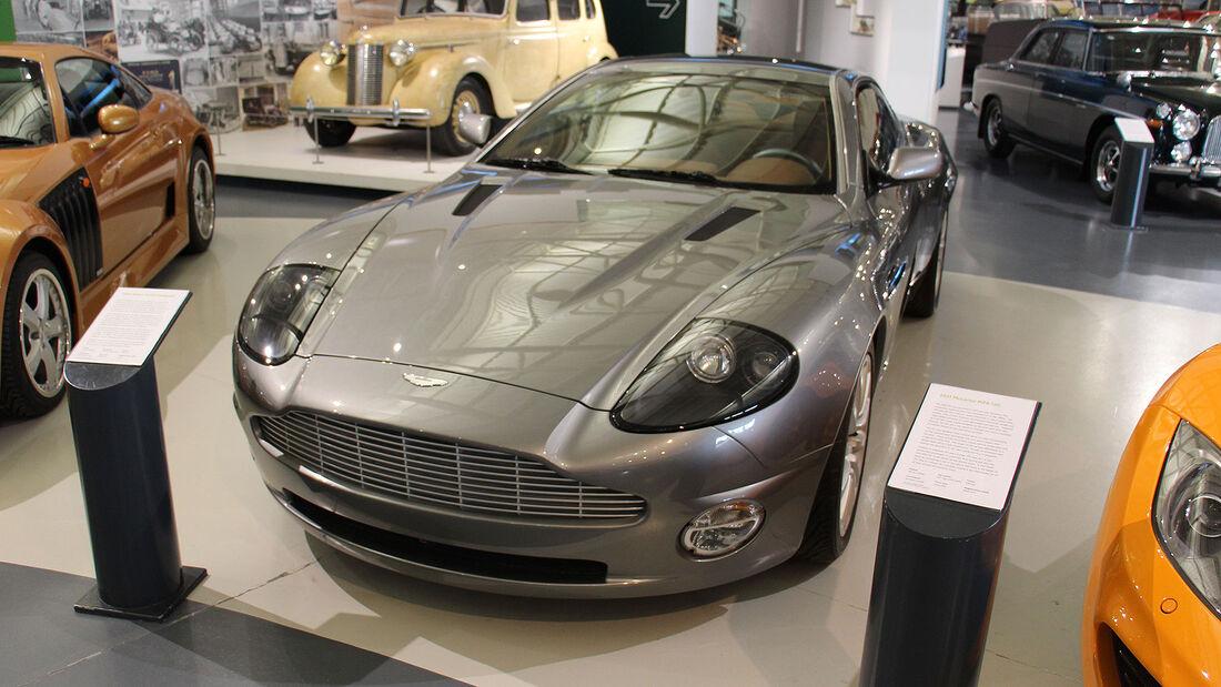 Aston Martin Vanquish im British Motor Museum