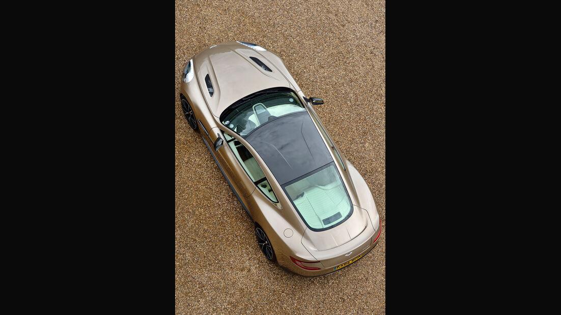 Aston Martin Vanquish, von Oben, Draufsicht