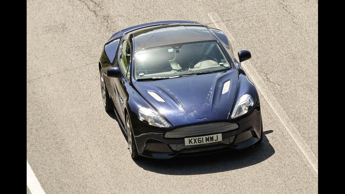 Aston Martin Vanquish, von oben