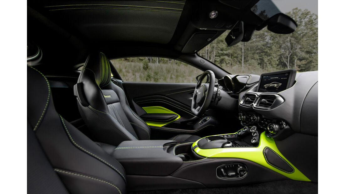 Aston Martin Vantage 2018 Sperrfrist 21.11.17 / 13 Uhr CET