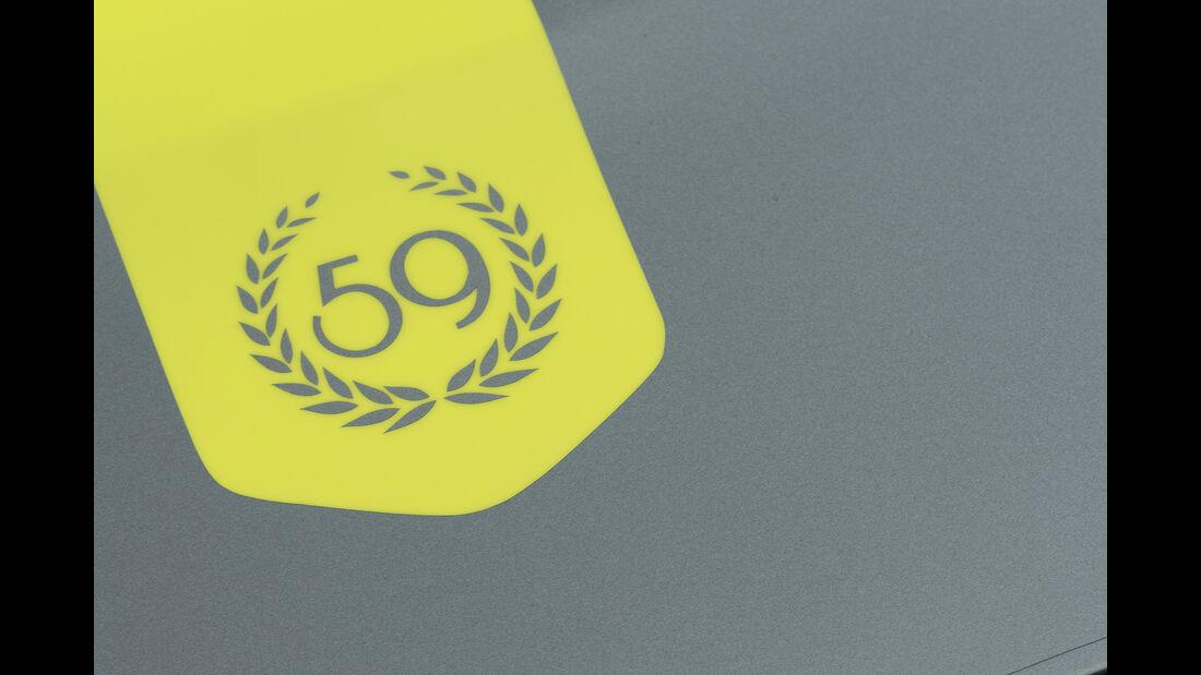 Aston Martin Vantage 59, Exterieur