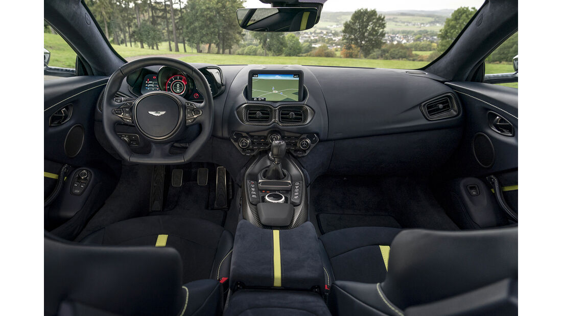 Aston Martin Vantage 59, Interieur