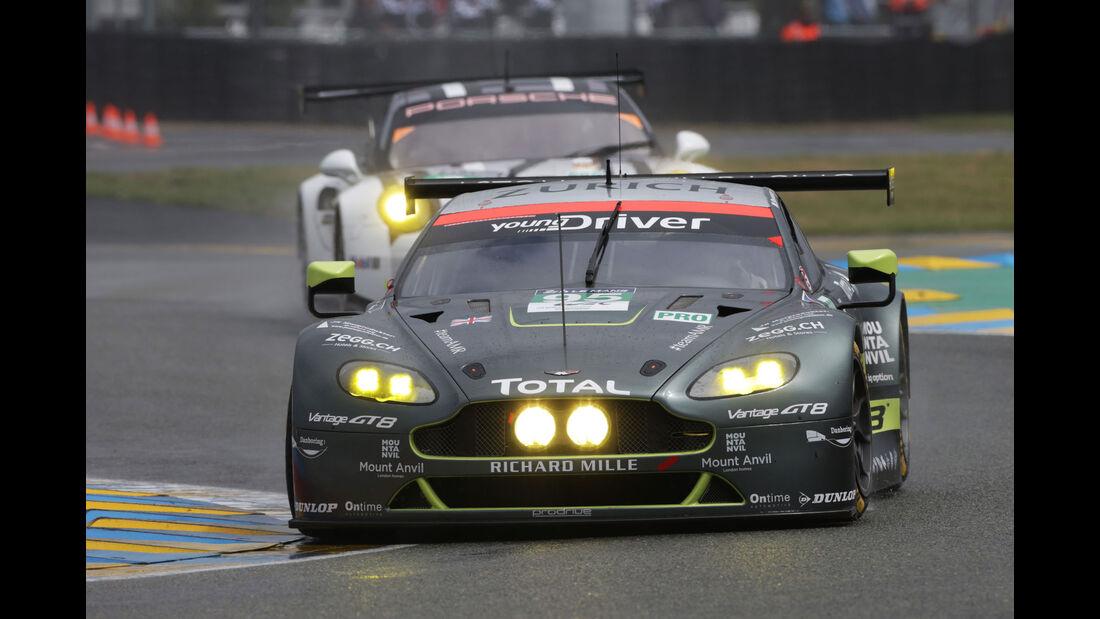 Aston Martin Vantage - #95 - 24h Le Mans - Samstag - 18.06.2016