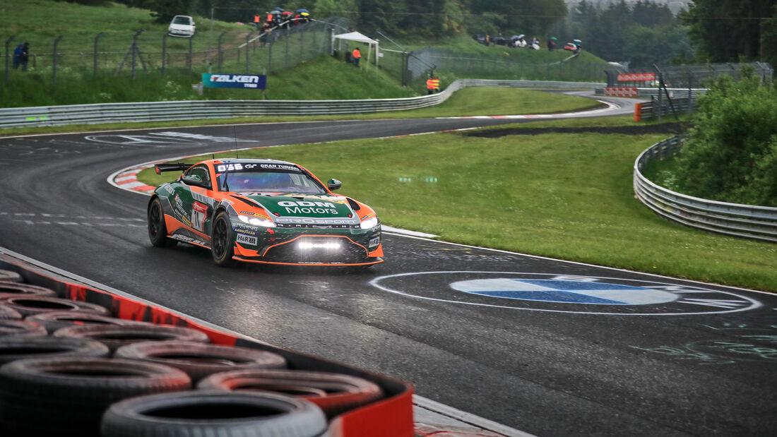 Aston Martin Vantage AMR GT4 - PROsport Racing - Startnummer #71 - 24h-Rennen Nürburgring - Nürburgring-Nordschleife - 5. Juni 2021