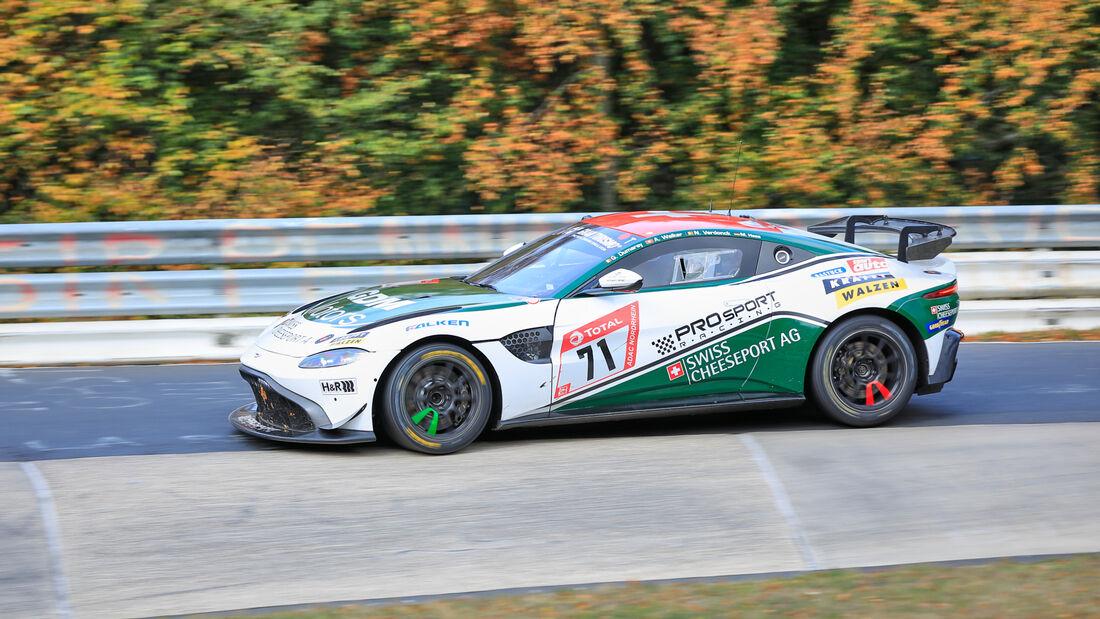Aston Martin Vantage AMR GT4 - Prosport-Racing GmbH - Startnummer #71 - Klassse: SP10 - 24h-Rennen - Nürburgring - Nordschleife - 24. bis 27. September 2020