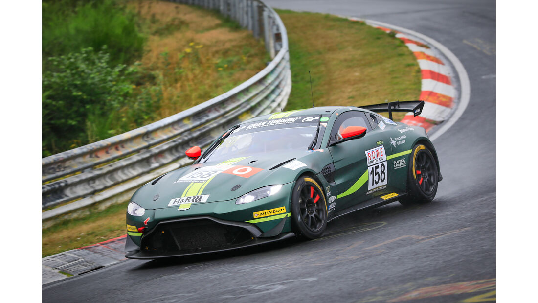 Aston Martin Vantage AMR GT4 - Startnummer #158 - AMR Performance Center - SP8T - VLN 2019 - Langstreckenmeisterschaft - Nürburgring - Nordschleife