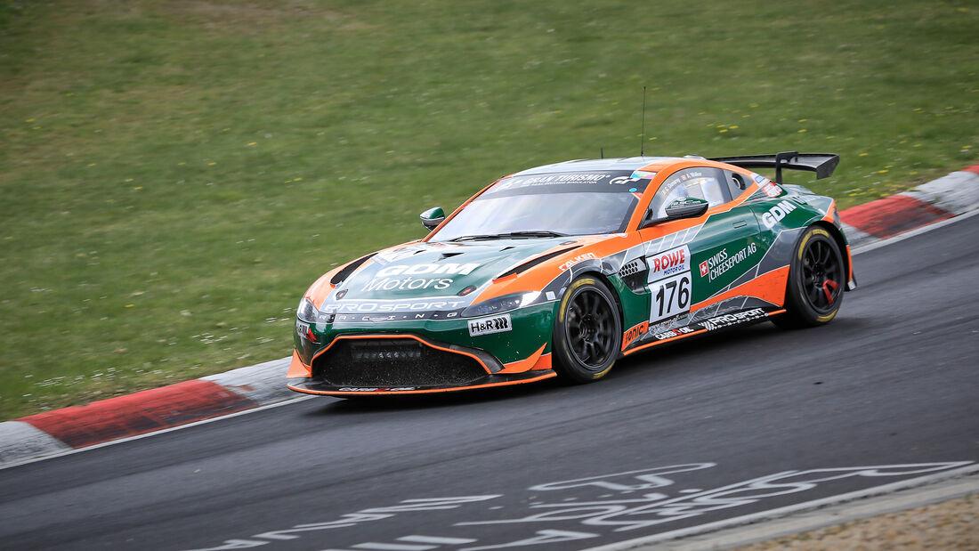 Aston Martin Vantage AMR GT4 - Startnummer #176 - PROsport-Racing GmbH - SP10 - NLS 2021 - Langstreckenmeisterschaft - Nürburgring - Nordschleife