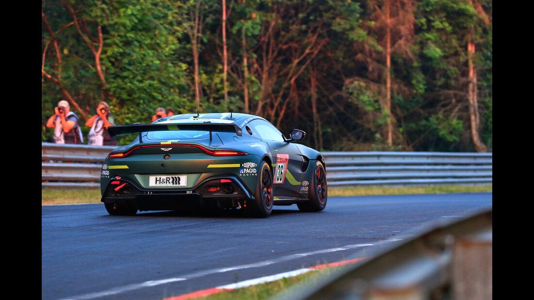 Aston Martin Vantage AMR GT4 - Startnummer #36 - 24h Rennen Nürburgring - 22. Juni 2019