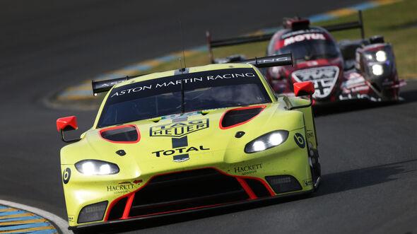 Aston Martin Vantage AMR - Le Mans - Vortest