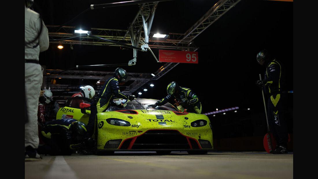Aston Martin Vantage AMR - Startnummer #95 - 24h-Rennen Le Mans 2018 - Sonntag - 17.6.2018