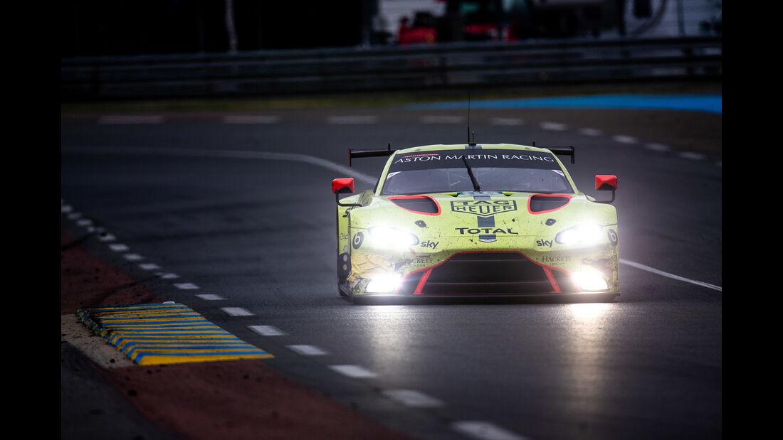 Aston Martin Vantage AMR - Startnummer #95 - 24h-Rennen Le Mans - Samstag - 15.06.2019