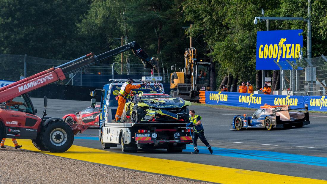 Aston Martin Vantage AMR - Startnummer #98 - LMGTE Am - 24h-Rennen Le Mans 2021