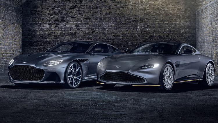 Lizenz Zur Selbstzerstörung Aston Martin Q 007 Sondermodelle Auto Motor Und Sport