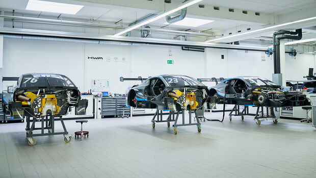 Aston Martin Vantage - DTM - Chassis