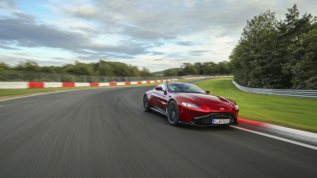 Aston Martin Vantage, Exterieur