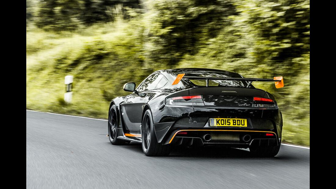 Aston Martin Vantage GT12, Heckansicht