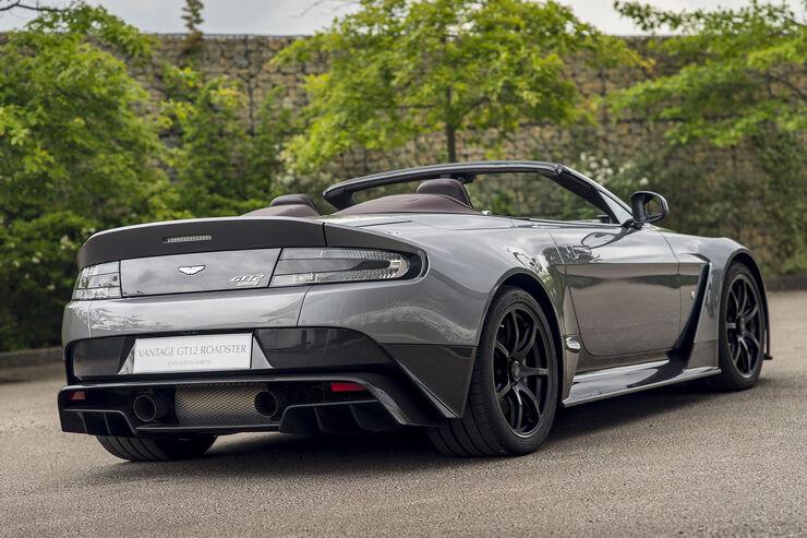 Aston Martin Vantage Gt12 Roadster Traumcabrio Als Unikat Auto Motor Und Sport