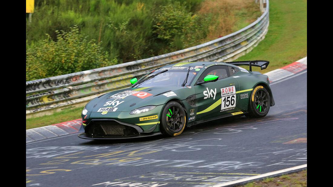 Aston Martin Vantage GT4 - Startnummer #156 - AMR Performance Centre - SP8T - VLN 2019 - Langstreckenmeisterschaft - Nürburgring - Nordschleife