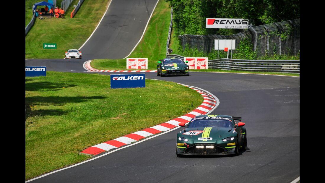 Aston Martin Vantage GT4 - Startnummer #36 - 24h Rennen Nürburgring - 22. Juni 2019