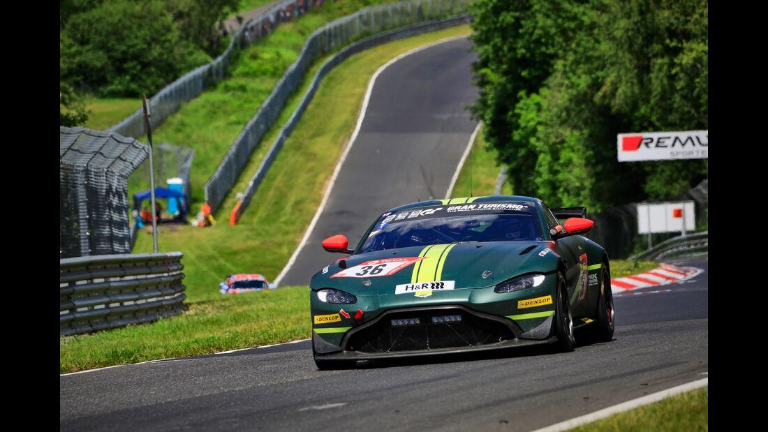 Aston Martin Vantage GT4 - Startnummer #38 - 24h Rennen Nürburgring - 21. Juni 2019