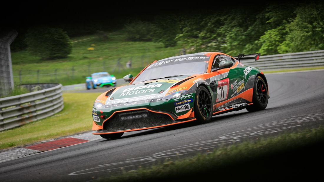 Aston Martin Vantage GT4 - Startnummer 71 - 24h Rennen Nürburgring - Nürburgring-Nordschleife - 3. Juni 2021