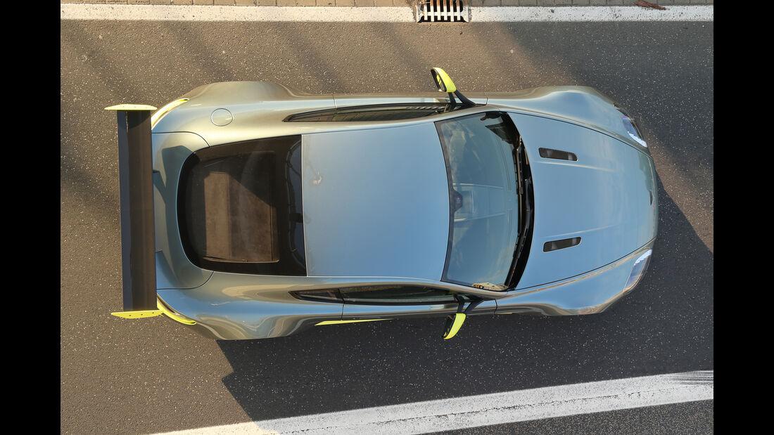 Aston Martin Vantage GT8, Draufsicht