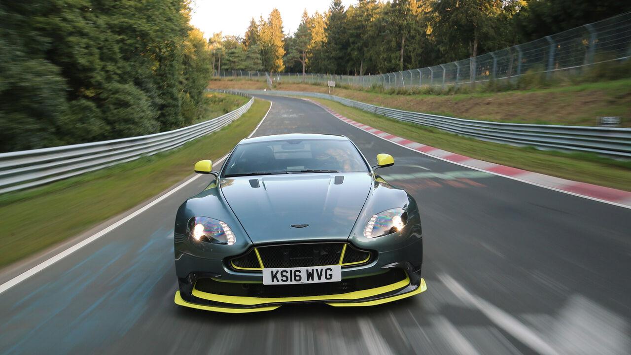 V8 Sondermodell Aston Martin Vantage Gt8 Im Supertest Auto Motor Und Sport