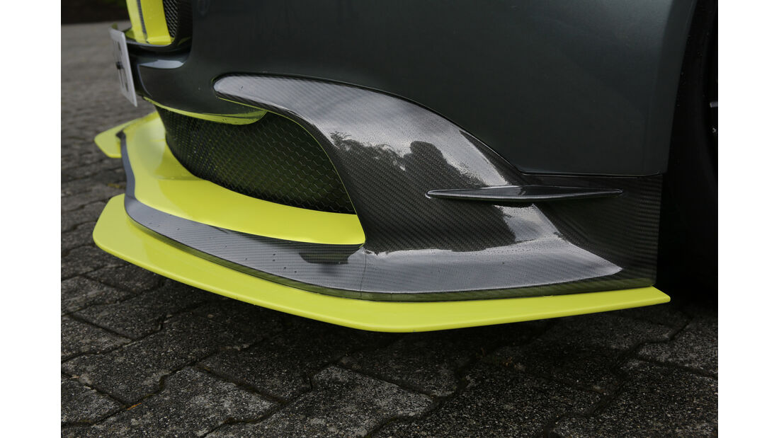 Aston Martin Vantage GT8, Frontspoiler