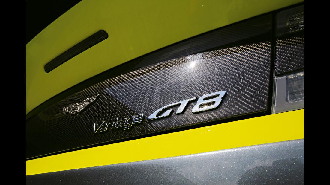 Aston Martin Vantage GT8, Typenbezeichnung