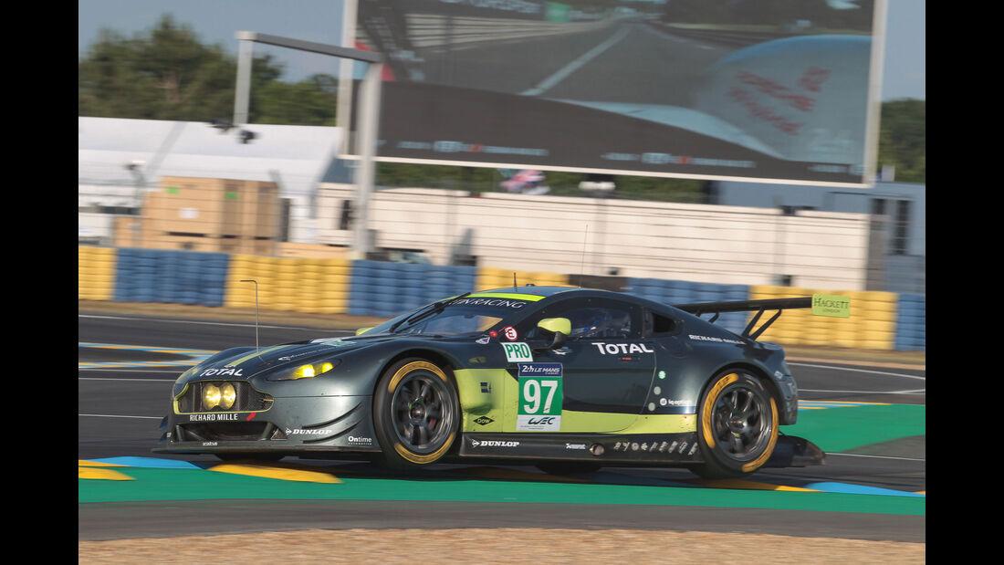 Aston Martin Vantage GTE - Startnummer #97 - 24h-Rennen Le Mans 2017 - Qualifying