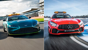 Aston Martin Vantage - Mercedes AMG GT-R - Safety-Car - Formel 1 - 2021
