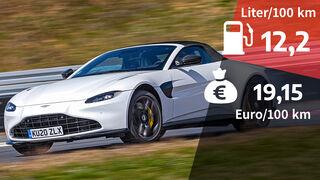 Aston Martin Vantage Roadster 4.0 V8 Realverbrauch