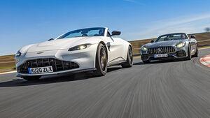 Aston Martin Vantage Roadster, Mercedes-AMG GT Roadster, Exterieur