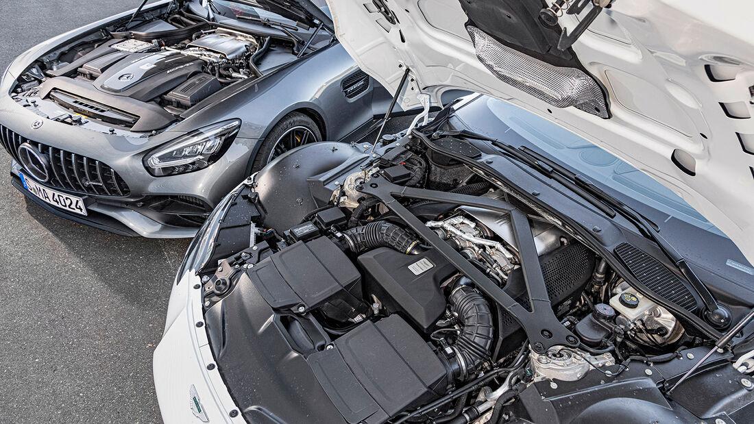 Aston Martin Vantage Roadster, Mercedes-AMG GT Roadster, Motor