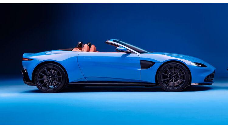 Aston Martin Vantage Roadster Erste Bilder Vom Offenen Zweisitzer Auto Motor Und Sport