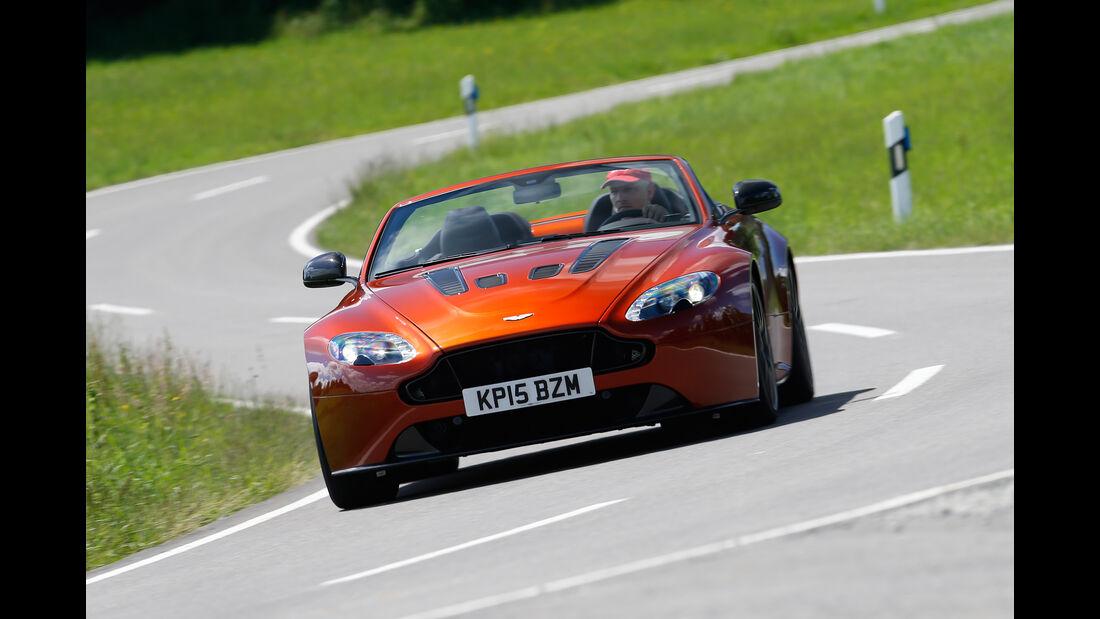 Aston Martin Vantage S, Frontansicht
