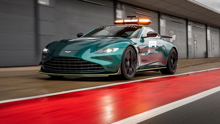 F1 Safety Cars 2021 Von Aston Martin Mercedes Auto Motor Und Sport
