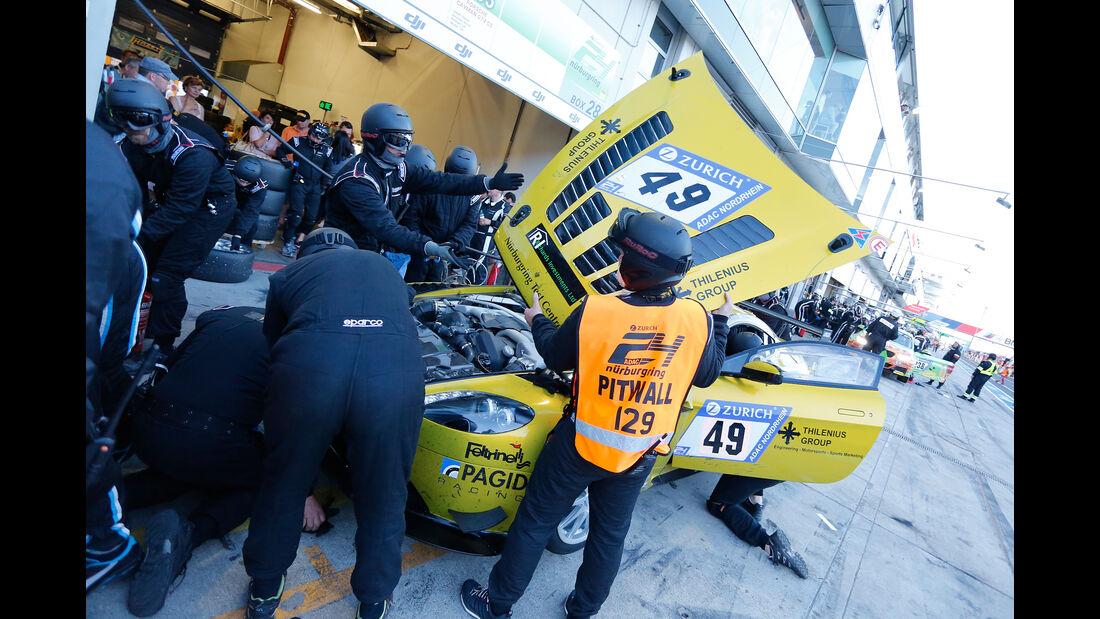 Aston Martin Vantage - Startnummer #49 - 24h-Rennen Nürburgring 2017 - Nordschleife - Samstag - 27.5.2017