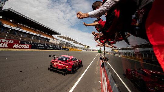 Aston Martin Vantage - Startnummer #90 - Klasse: GTE Am - 24h-Rennen - Le Mans 2020