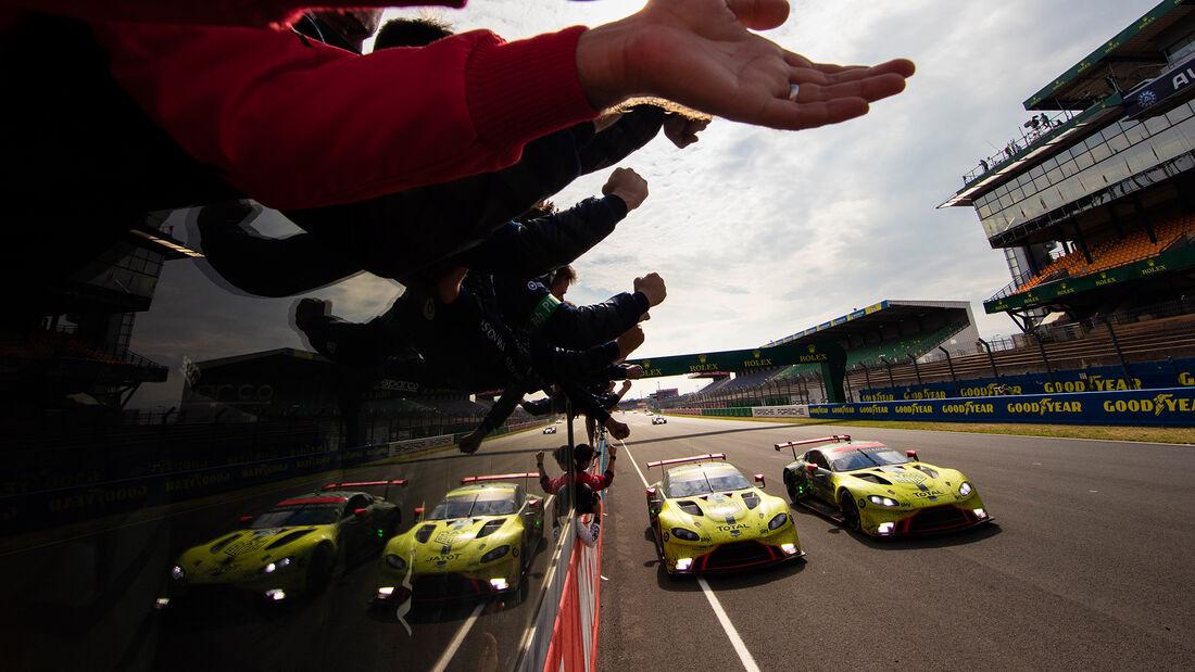 Aston Martin Vantage - Startnummer #95 & #97 - Klasse: GTE Pro - 24h-Rennen - Le Mans 2020