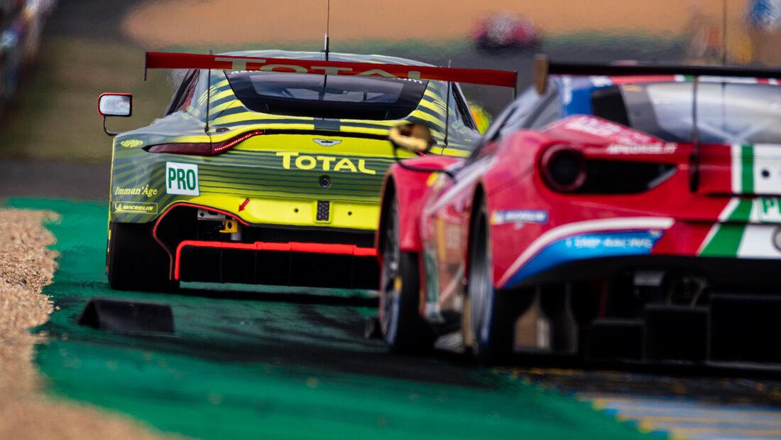 Aston Martin Vantage - Startnummer #95 - Klasse: GTE Pro - 24h-Rennen - Le Mans 2020